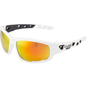 Rudy Project Airgrip Glasses white gloss - rp optics multilaser orange